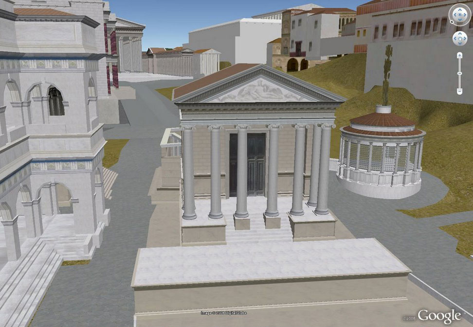 Rome Google Earth